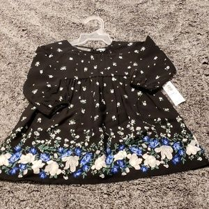 Old navy baby dress, floral print